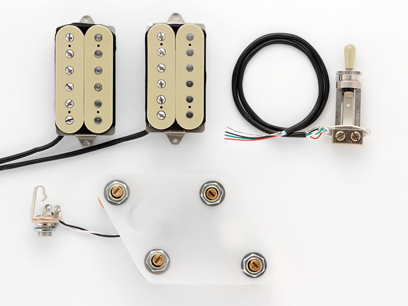 "DiMarzio Pre-wired Pickup Set for Les Paul Type ""Vintage set (GG2101A1CR)"" 【安心の正規輸入品】"