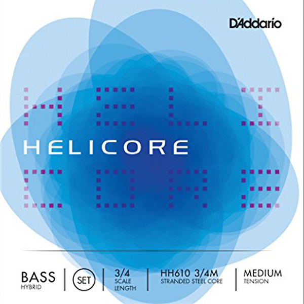 D'Addario Helicore Hybrid Bass Strings [HH610]