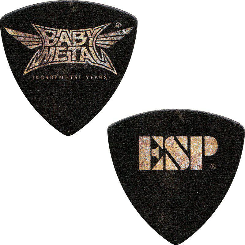 イーエスピー ピック (人気激安) ESP 品質保証 ESP×BABYMETAL Collaboration Guitar PA-BM10 10月10日までの期間限定生産 Pick 11月頃入荷予定 ×10枚セット