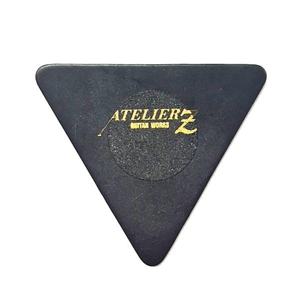 アトリエZ ピック あす楽 新品 即納可能 正規品 ATELIER Z ×3枚セット PICK 1.00mm BLACK TRIANGLE 安心の実績 高価 買取 強化中 LARGE