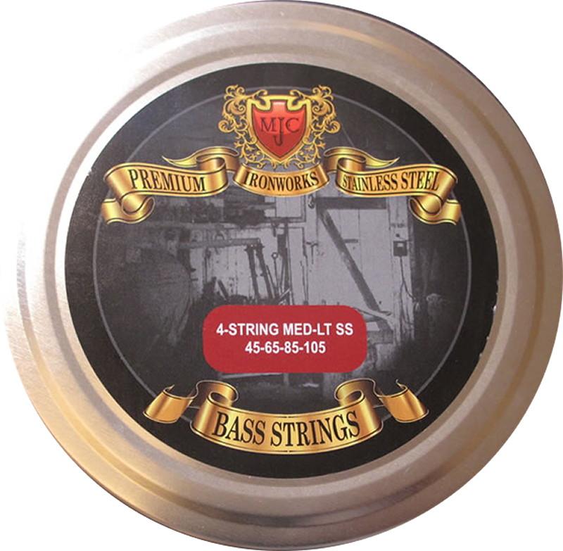 MJC Ironworks Bass Guitar Strings 45-105 ブランド品 4弦エレキベース弦 MJC-ML45105SS4 ステンレス 通常便なら送料無料