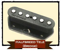 RIO GRANDE HALFBREED TELE BRIDGE 【BLACK】