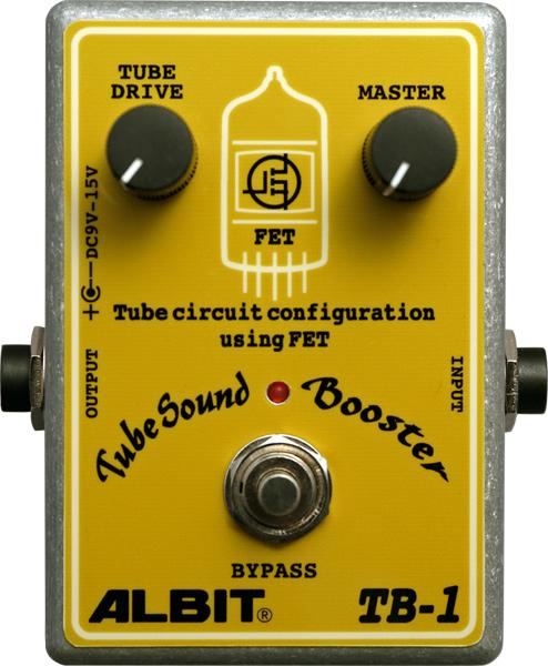 ALBIT TB-1 [TubeSound Booster] 【ブースター】