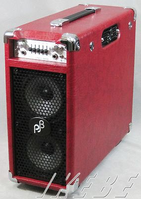 PJB(Phil Jones Bass) BriefCase (Red) 【お取り寄せ商品】