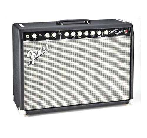 Fender USA Super-Sonic 22 Combo [Black][2160007000] 【お取り寄せ商品】 【rpt5】