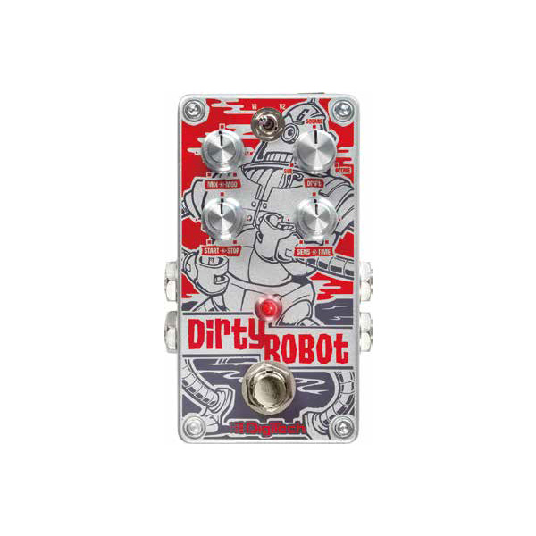 Digitech Dirty Robot [Stereo Mini-Synth Pedal] 【エンベロープフィルター】