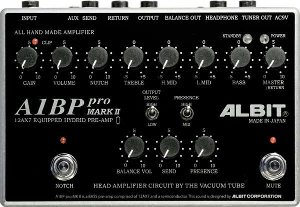 ALBIT A1BP pro MARK II 【ベースプリアンプ】 【即納可能】