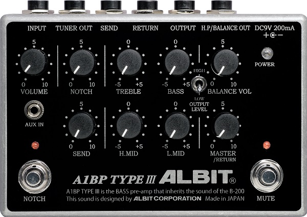 ALBIT A1BP TYPE III 【ベースプリアンプ】 【即納可能】