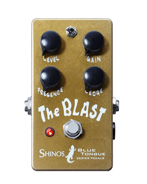SHINOS amplifier company Ltd. The Blast [BLUE TANGUE Series]