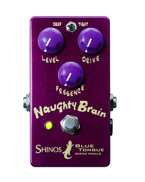 SHINOS amplifier company Ltd. Naughty Brain[BLUE TANGUE Series]