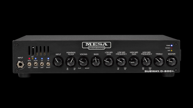 Mesa Boogie Subway D-800+ [800W/4or2Ω]