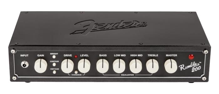 Fender USA RUMBLE 200 HEAD V3 【即納可能】 【rpt5】