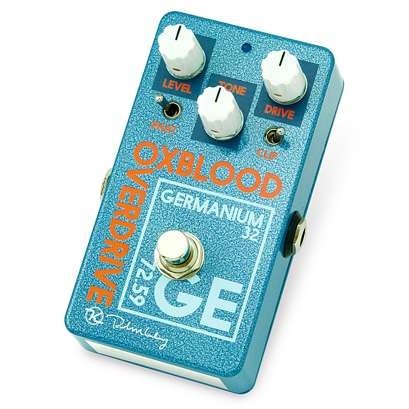 keeley Oxblood Gremanium Overdrive 【今がチャンス!円高還元セール!】 【キーリー Tシャツプレゼント!】