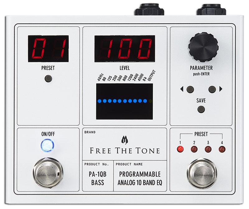 Free The Tone PA-1QB [PROGRAMMABLE ANALOG 10 BAND EQ]