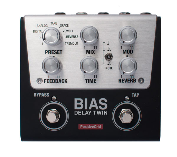 Positive Grid BIAS Delay Twin 【展示キズ処分特価】