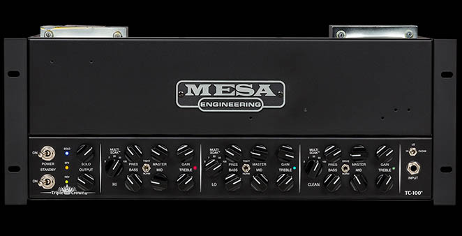 Mesa Boogie Triple Crown TC-100 Rackmount Head