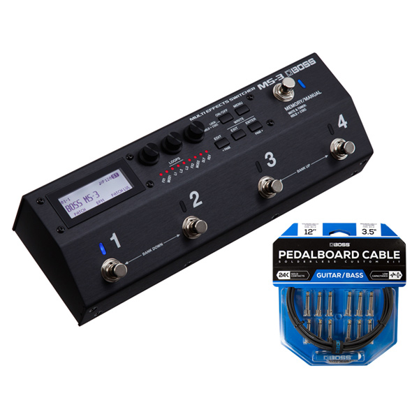 BOSS MS-3 [Multi Effects Switcher] + Switcher] BCK-12 + 『Pedalboard cable cable kit, 12connectors, 3.6m』~ソルダーレスケーブル~【rpt5】, kagu*kagu 家具と雑貨のお店:338e72c2 --- odigitria-palekh.ru