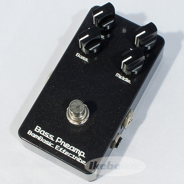BamBasic Bass Preamp (Preamp+Equalizer)