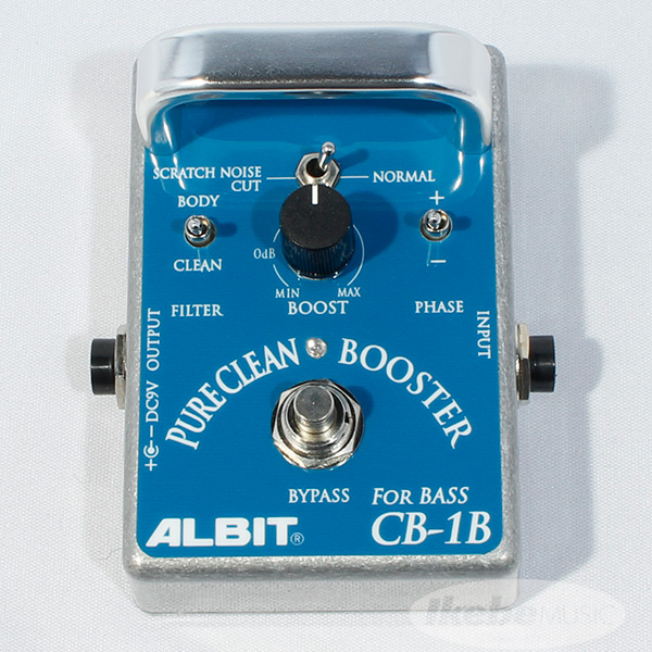 ALBIT CB-1B [PURE CLEAN BOOSTER FOR BASS] 【ベースブースター】
