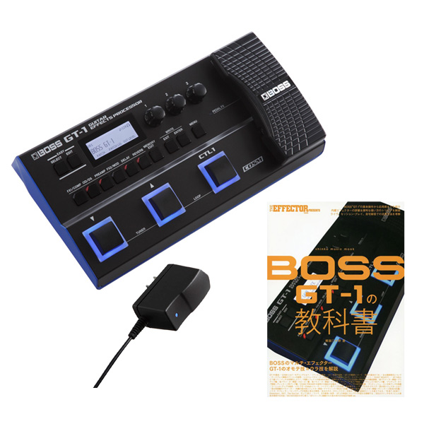 BOSS GT-1 + PSA-100S2 + シンコー・ミュージック・ムック THE EFFECTOR BOOK PRESENTS BOSS GT-1の教科書 【BOSS Effects Winter Campaign】 数量限定スリーブケース・プレゼント! 【rpt5】