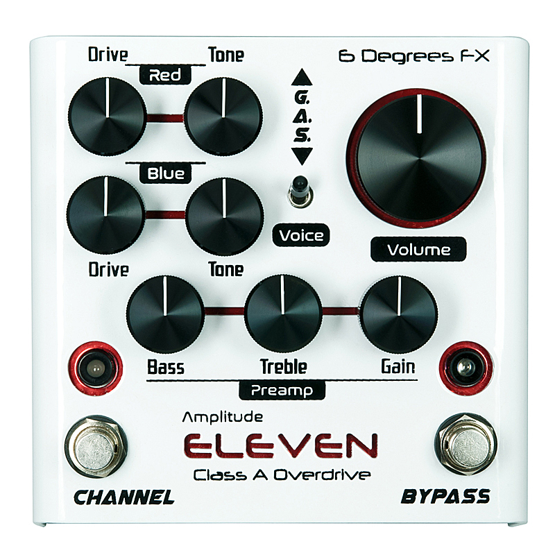 6 Degrees FX Amplitude ELEVEN [Class A Overdrive]