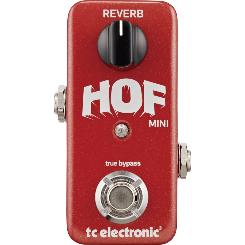 t.c.electronic HALL OF FAME MINI REVERB
