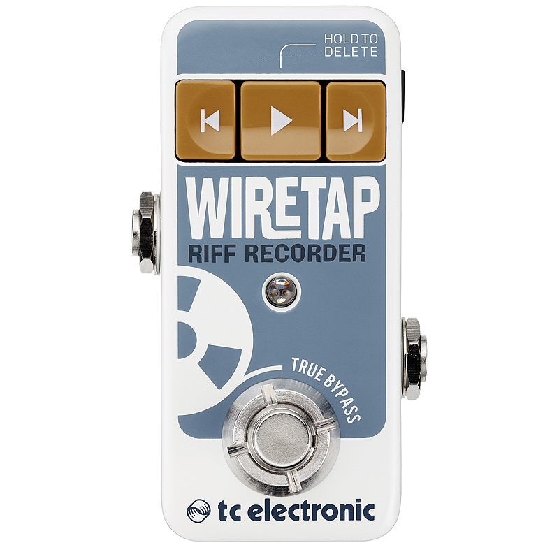 t.c.electronic WIRETAP RECORDER RIFF