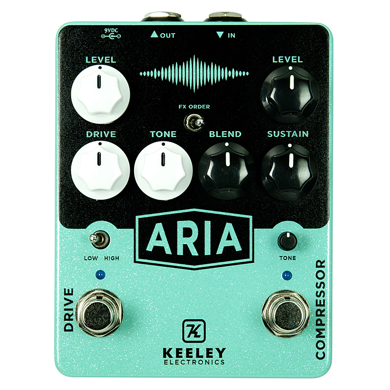 keeley Aria Compressor Drive 【今がチャンス!円高還元セール!】 【キーリー Tシャツプレゼント!】