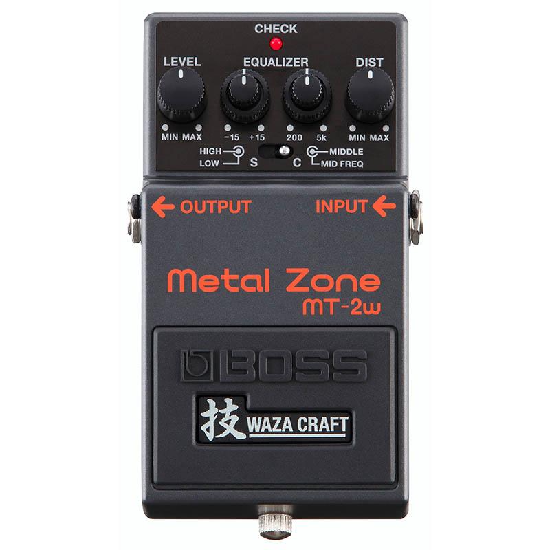 ボス エフェクター ディストーション 大放出セール あす楽 新品 即納可能 BOSS MT-2W MADE IN 卸直営 JAPAN Craft Series Metal 技 送料無料 rpt5 Waza Zone Edition Special