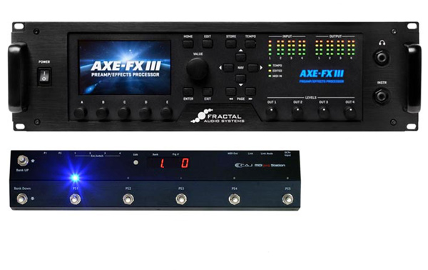 FRACTAL AUDIO SYSTEMS Axe-Fx III / CAJ MIDI PRG Station SET 【rpt5】