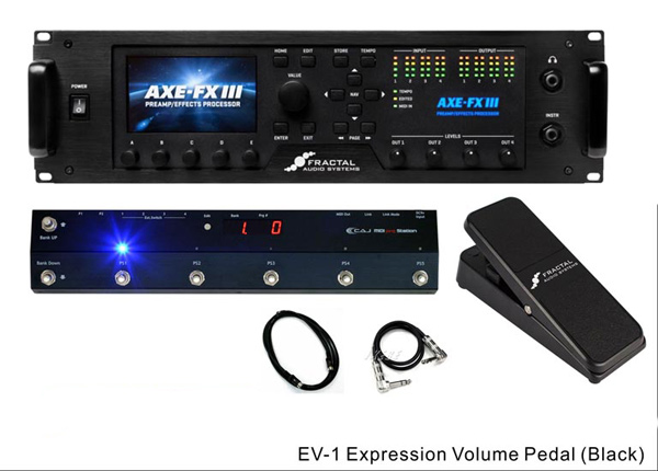 FRACTAL AUDIO SYSTEMS Axe-Fx III / MIDI PRG Station / EV-1 SET