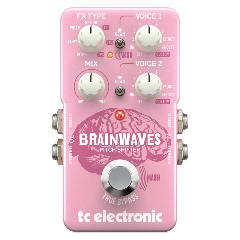 t.c.electronic BRAINWAVES PITCH SHIFTER