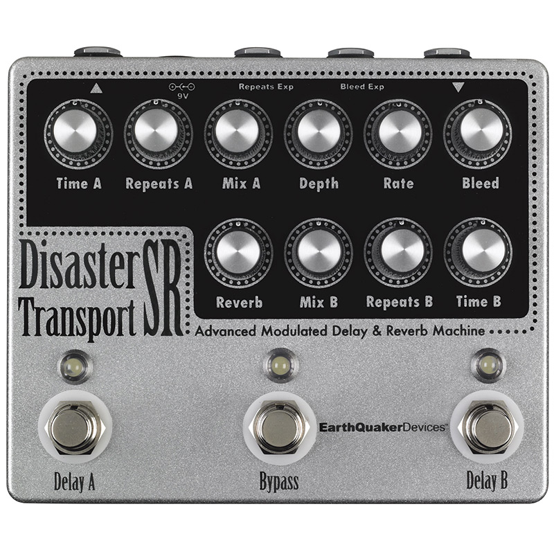 EarthQuaker Devices Disaster Transport SR Modulated Dly&Rev