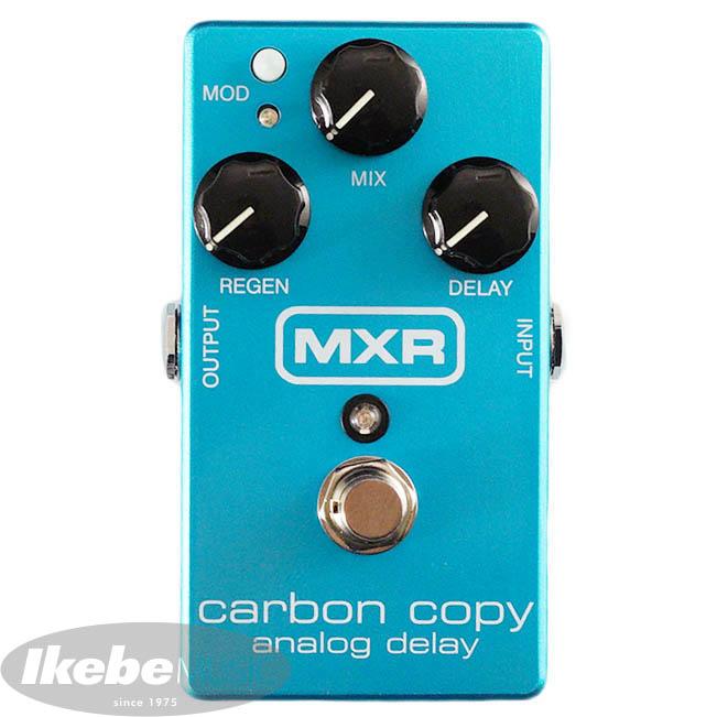 "MXR IKEBE 45th Anniversary M169 Carbon Copy Analog Delay ""Aqua Blue"" 【8月発売予定】"