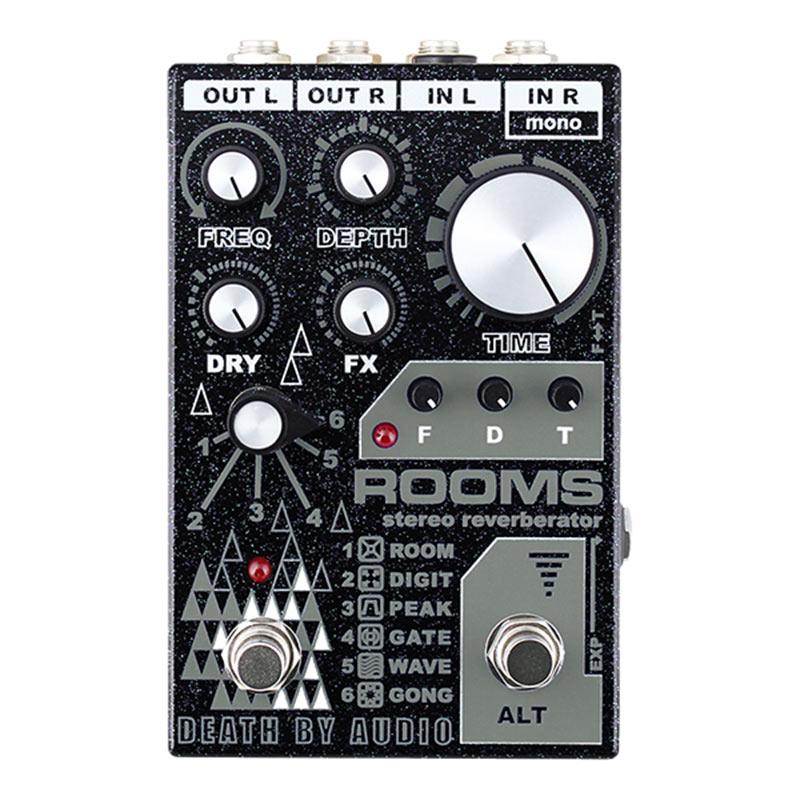 内祝い 公式 エフェクター リバーブ Death by ROOMS Audio