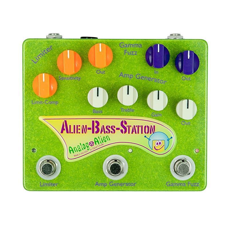 Analog Alien Alien Bass Station 【ベースプリアンプ】
