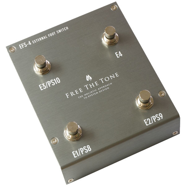 Free The Tone EFS-4 (Silver) [EXTERNAL FOOTSWITCH] 【展示ボード組み込み品処分特価】