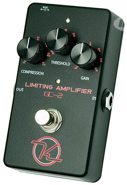 keeley Compressor GC-2 Limiting Amplifier 【今がチャンス!円高還元セール!】