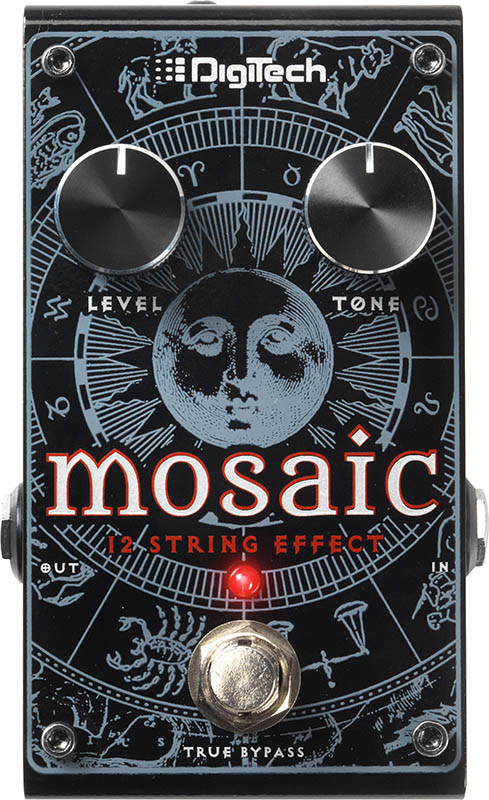 Digitech Mosaic [Polyphonic 12-String Effect Pedal]