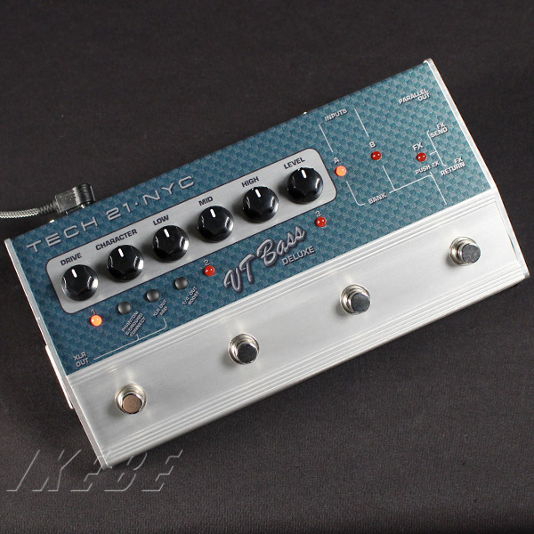 TECH21 VT BASS DELUXE (3ch x 2bank model) 【正規輸入品】