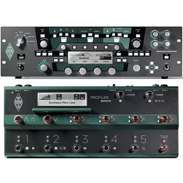 Kemper PROFILER RACK + REMOTE SET 【rpt5】