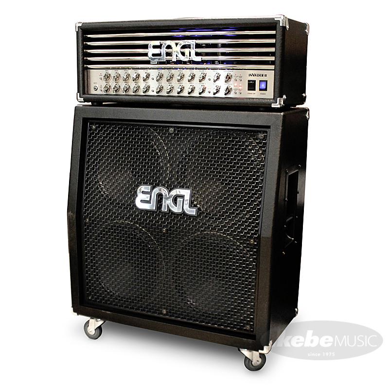 ENGL Invader II [E642/2] [100W/EL34] + 4x12 Pro Cabinet [E412VSB] SET 【購入特典3点セット付き】