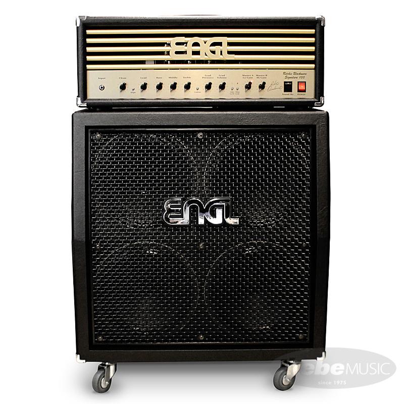 ENGL Ritchie Blackmore Signature 100 [E650/2] + 4x12 Pro Cabinet [E412VSB] SET 【購入特典3点セット付き】