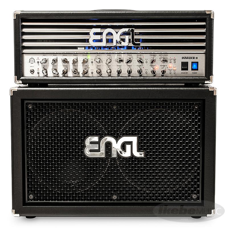 ENGL Invader II [E642/2] [100W/EL34] + 2x12 Pro Cabinet [E212VHB] SET 【購入特典3点セット付き】