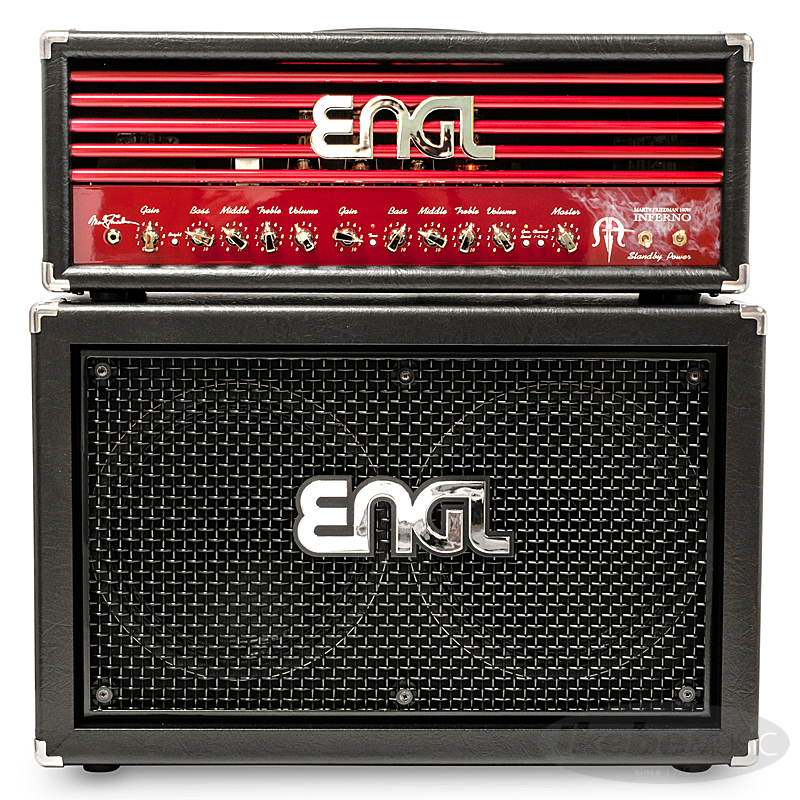 "ENGL Marty Friedman""INFERNO""Signature [E766] + 2x12 Pro Cabinet [E212VHB] SET 【購入特典3点セット付き】"