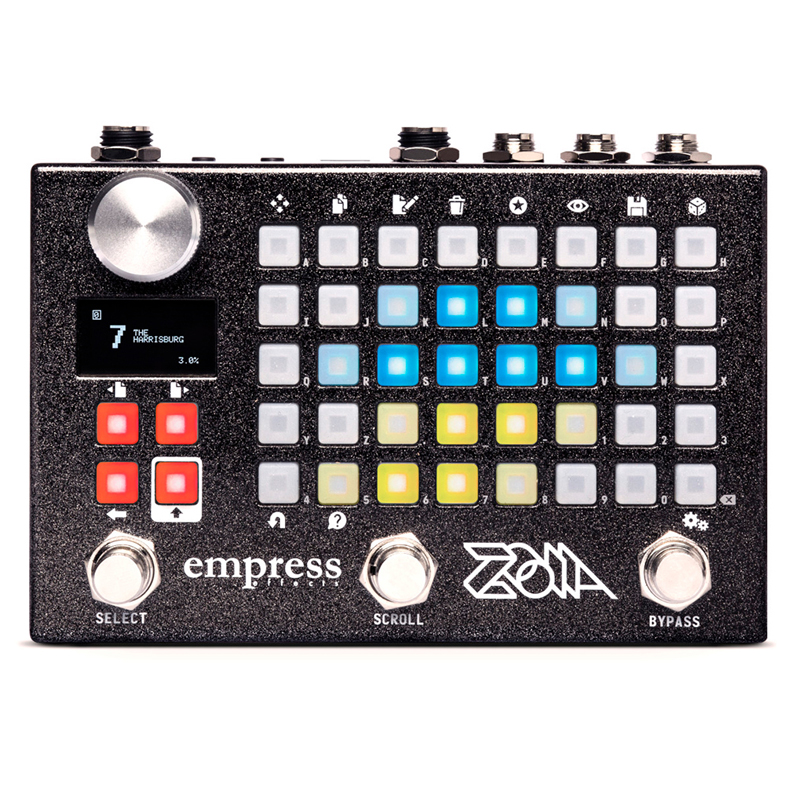 Empress Effects ZOIA [modular pedal system] 【ロックハウス限定ロゴ入りTシャツプレゼント!】