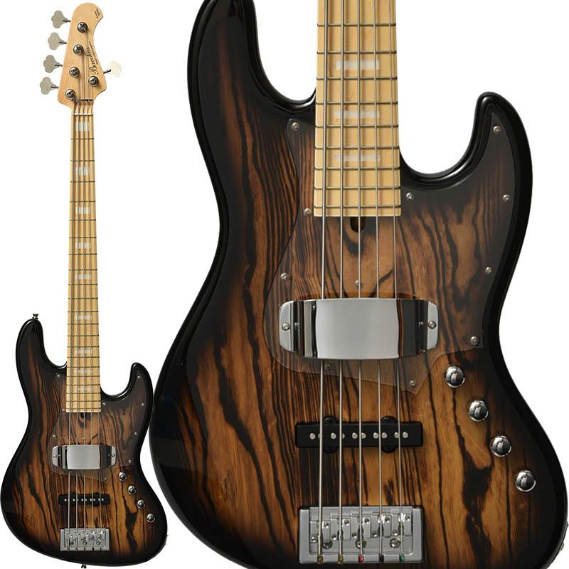 "Bacchus IKEBE ORIGINAL HJB5-STANDARD/ASH (NA-BURST BURNER) 【数量限定""ギター職人のフィンガーボードオイル""プレゼント!】"