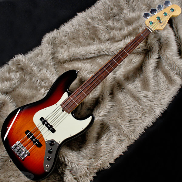 Fender USA American Professional Jazz Bass Fretless (3-Color Sunburst/Rosewood) [Made In USA] 【お取り寄せ品】 【rpt5】