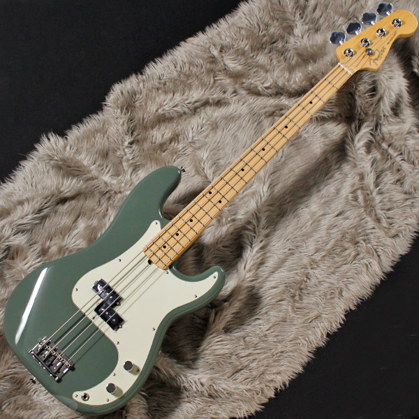 Fender USA American Professional Precision Bass (Antique Olive/Maple) [Made In USA] 【お取り寄せ品】【rpt5】