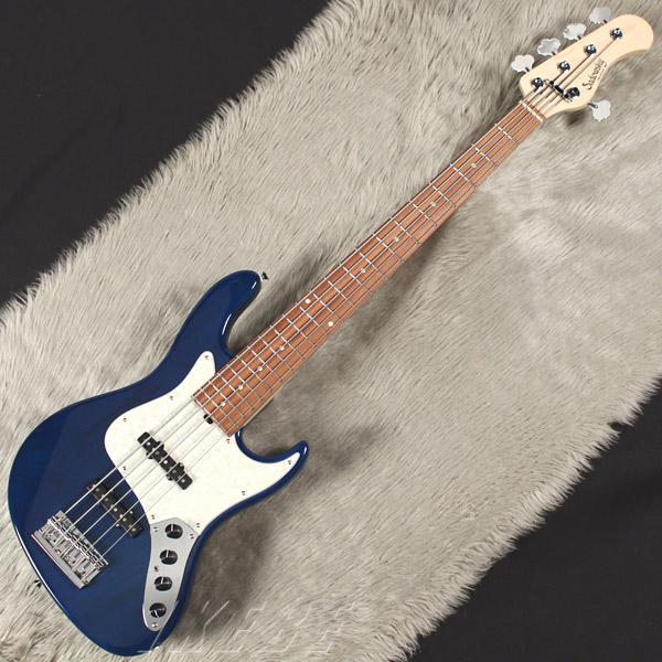Sadowsky Guitars Metro Series RV5-WL (Trans Blue) 【受注生産品】